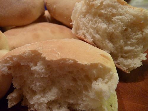 Petits pains au lait et à la fleur d'oranger