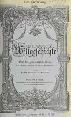 Image taken from page 843 of 'Weltgeschichte ... Dritte verbesserte Auflage. (Fortgesetzt von Dr. Richard V. Kralik, Bd. 23, etc.)'