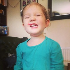 """""""Mummy I found your lipstick and now I'm a beautiful lady"""""""