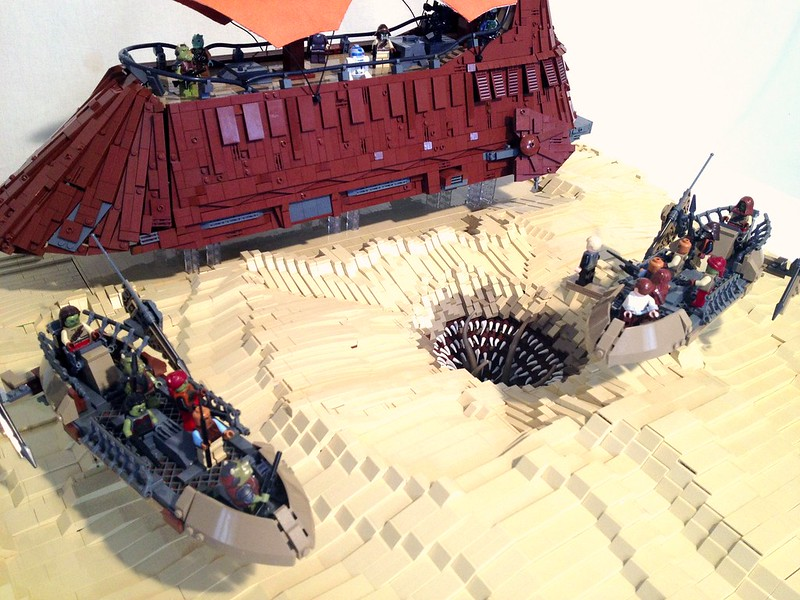 Episode VI - Pit of carkoon - Sarlacc Diorama - LEGO Star Wars ...