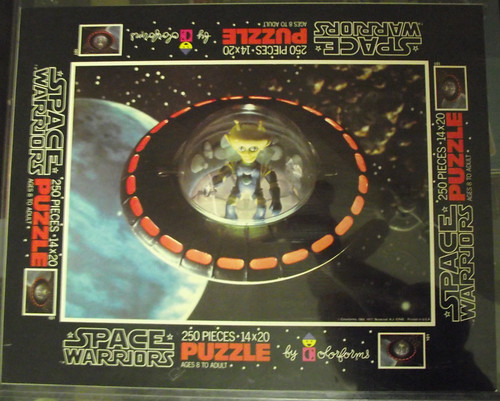 Space Warriors puzzle proof sheets, cards, and color separations 11282368303_c53a088896