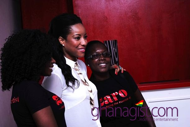 Joselyn Dumas with some staff of Zaron_opt