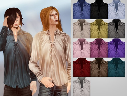 A:S:S - Nineveh silk shirt by Pho Vinternatt