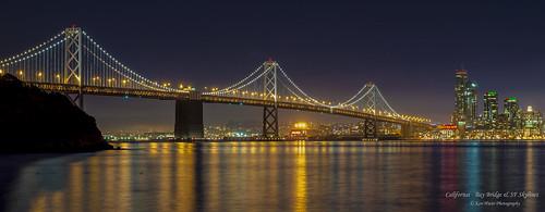 Bay Bridge and SF Skyline