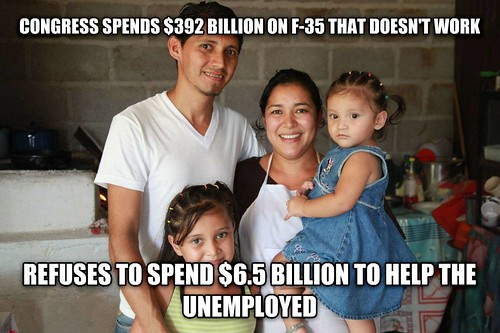 f35 vs unemployed