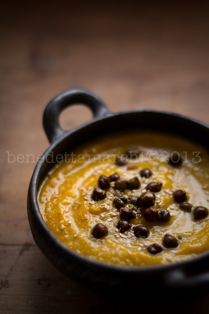pumpkin and thistle soup