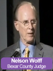 Bexar County Judge Nelson Wolff