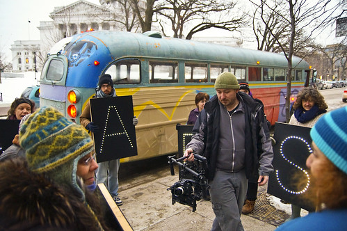 Filming the Holders at Capitol