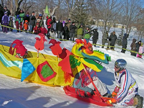 2014 Art Sled Rally Dragon sled