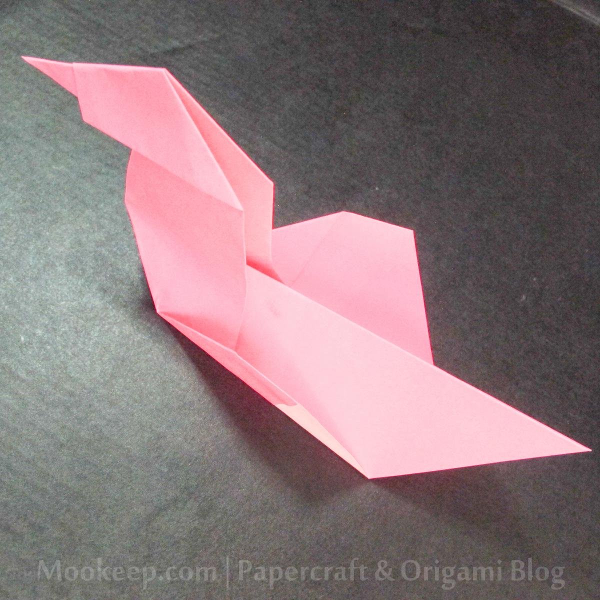 สอนวิธีการพับกระดาษเป็นรูปเป็ด (Origami Duck) - 022.jpg