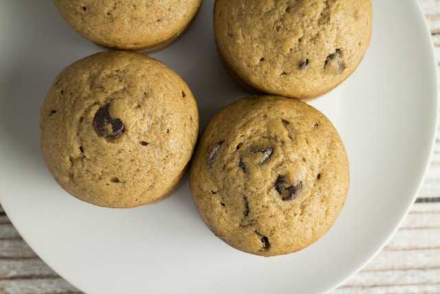 Pumpkin Spiced Chocolate Chip Muffins_1