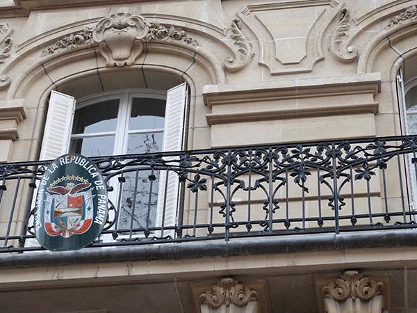 balcon art nouveau