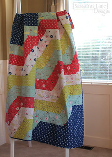 Wiley Way Quilt in Enchant fabric