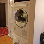Full size 24 inch Bosch washer and dryer