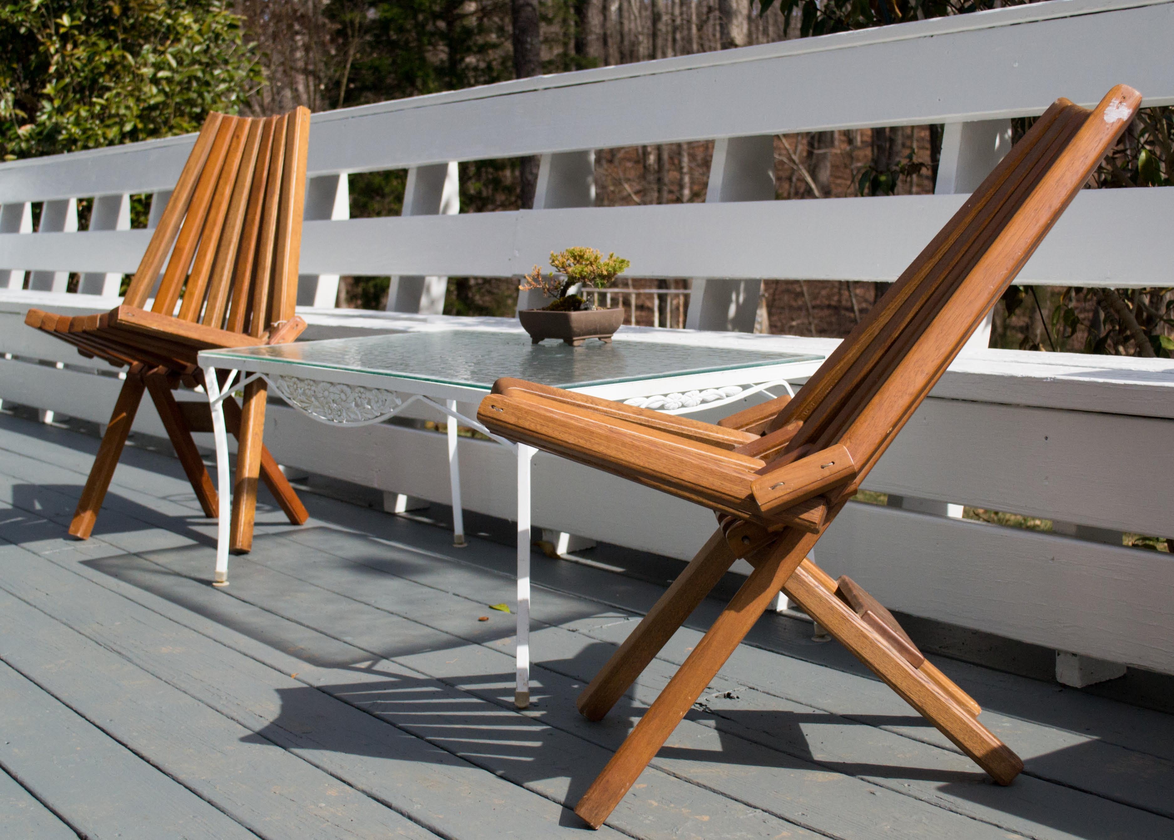 mcm panamerican deck chair
