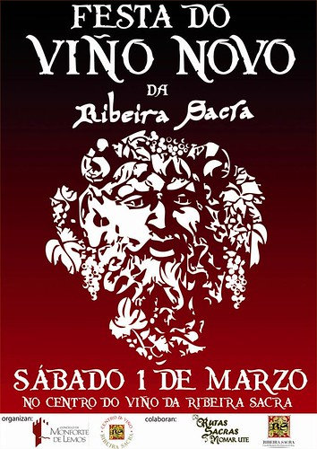 Monforte de Lemos 2014 - Festa do Viño Novo - cartel