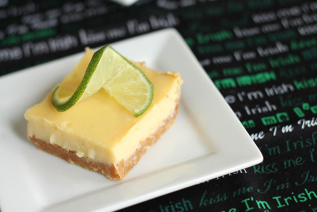 Lime bars with coconut #12bloggers
