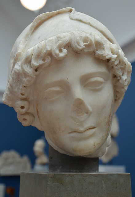 Penelope (the faithful wife of Odysseus), from Rome, Hadrianic copy of Greek work from 5th century BC, Ny Carlsberg Glyptotek, Copenhagen