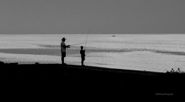 Fishing after sundown