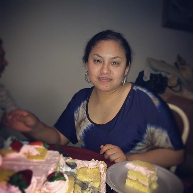 Celebrando los 30 años de mi cuñada... O eran 25
