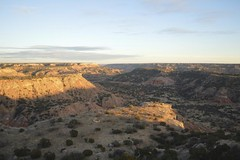 Palo Duro Canyon at Sunset