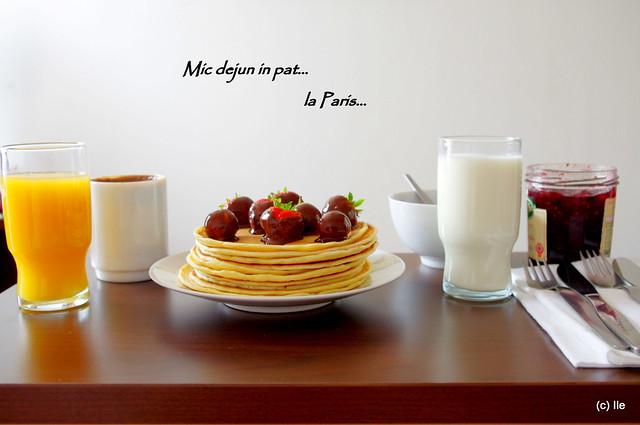 Mic dejun... la Paris (1)