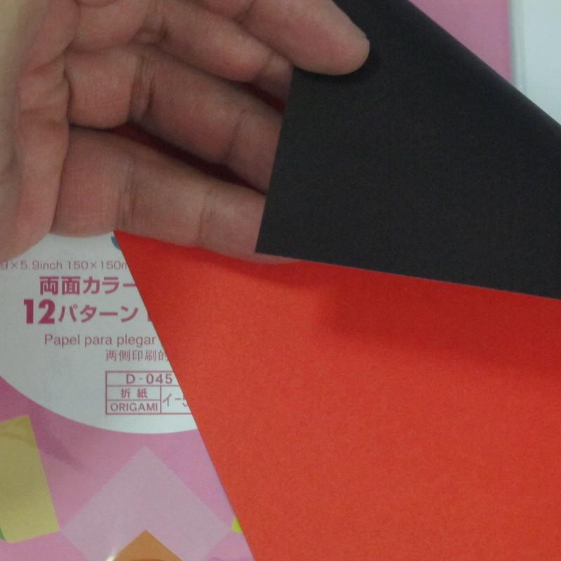 เลือกซื้อกระดาษสำหรับพับโอริงามิ (Origami paper) 012