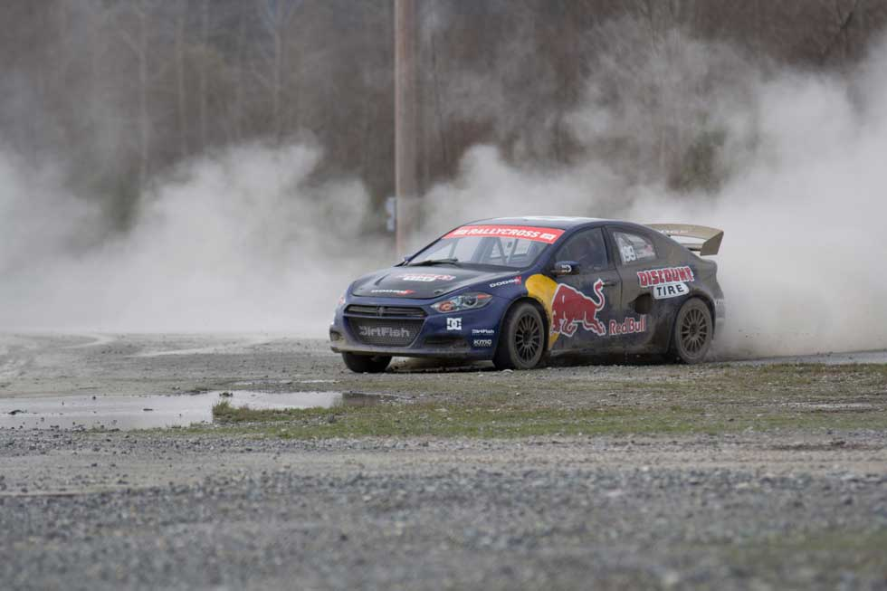 Dodge and SRT Motorsports today announced they're teaming up with action sports legend Travis Pastrana again for a second season of competition in the Global Rallycross Championship (GRC) Series. Pastrana Racing will now field two Dodge Dart race cars for