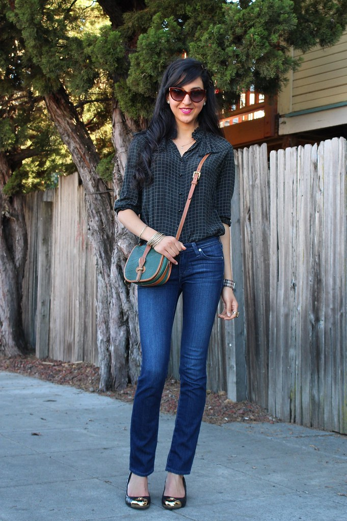 Checkered Blouse 3