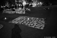 Hungerstreik der Refugees vom Oranienplatz...