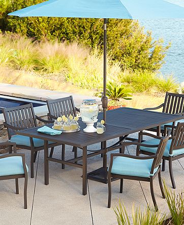 Throwing In The Towel On Teak In Search Of A New Outdoor Dining Set Old Town Home