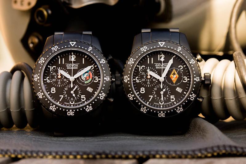 Gavox Squadron, Les montres de pilote pour la force aerienne Belge 14043919324_6b2db4e93d_c