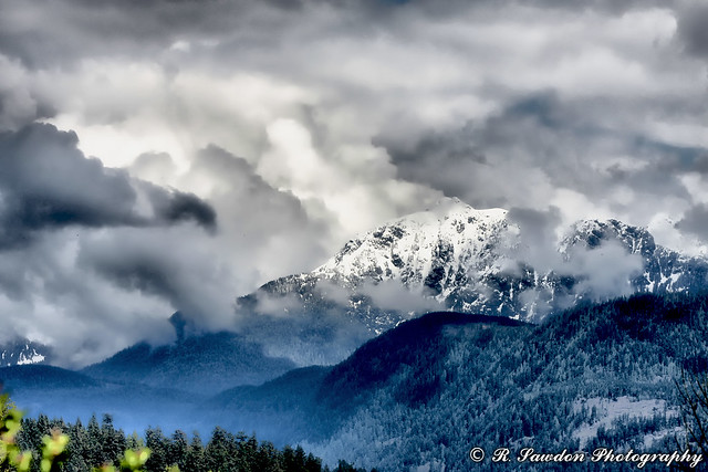 Storm Clouds over Golden Ears