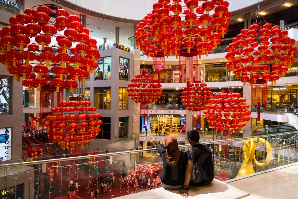 Chinese New Year Decorations @ Selangor, Malaysia