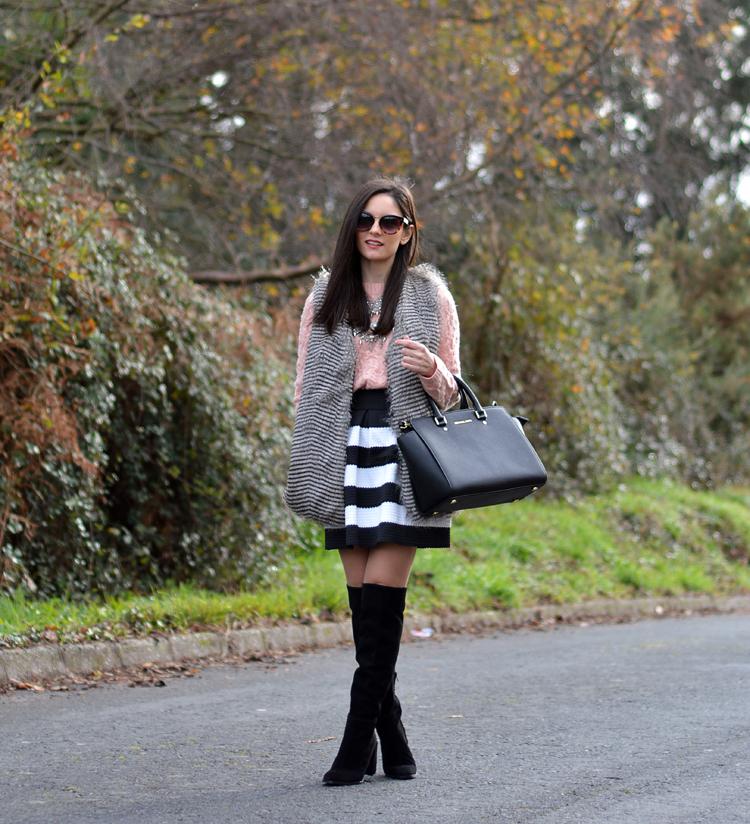 Zara_chaleco_vest_ootd_choies_botas altas_01