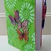 Painted Butterflies Composition Notebook Cover