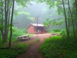 AT Three Ridges, VA Maupin Field Shelter