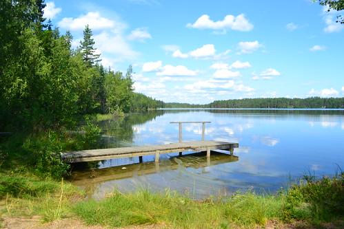 summer lake finland geotagged july shore fin ph keskisuomi 2011 saarijärvi swimmingplace pylkönmäki 201107 20110727 geo:lat=6260860700 geo:lon=2476859100 tohtaanjärvi