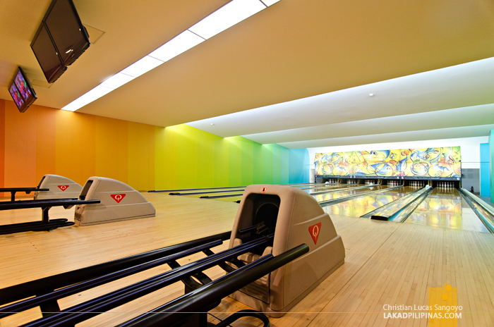 Bowling Alley at Pico de Loro Cove in Hamilo Coast, Batangas