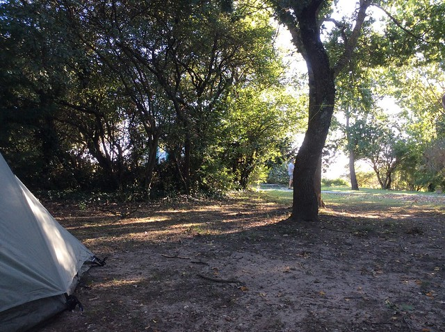 Camping at Domaine de la Capelle