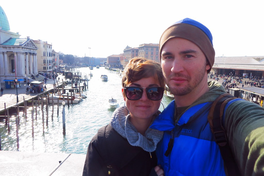 Lindsay and Kevin in Venice