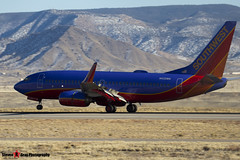 N432WN - 33715 1297 - Southwest Airlines - Boeing 737-7H4 - Albuquerque, New Mexico - 141229 - Steven Gray - IMG_1431