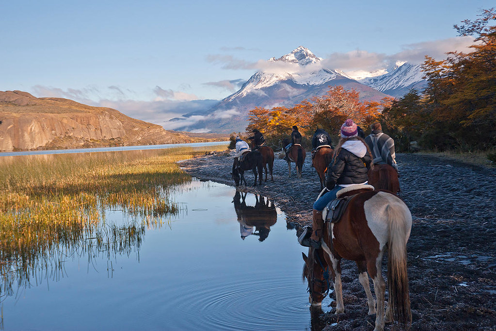 Horse riding in Puerto Natales - Patagonia, Chile