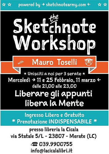 The Sketchnote Workshop Feb 2015