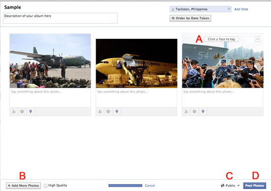 How to Upload Photos or Pictures on Facebook using PC or Mac 4