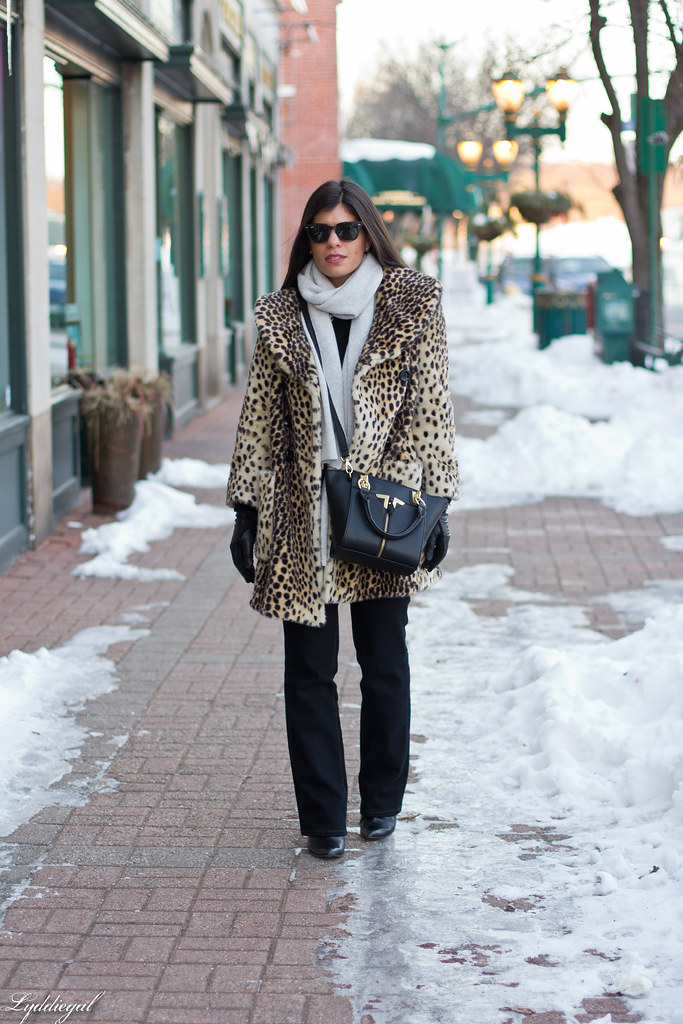 leopard coat, flared jeans, grey scarf-5.jpg