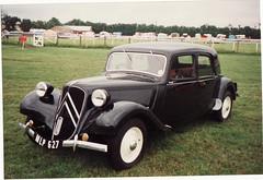 automobile, vehicle, mid-size car, citroã«n traction avant, antique car, sedan, classic car, vintage car, land vehicle, luxury vehicle,