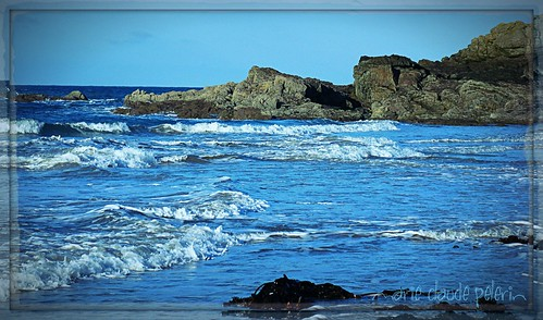 sea seascape france nature canon travels brittany rocks europe waves saintmalo maïclo
