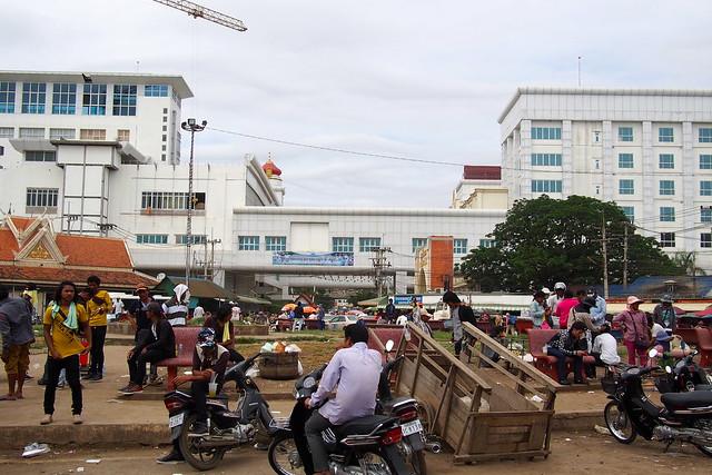 Border between Cambodia and Thailand