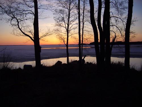 sunset st finland geotagged april fin 201104 2011 säkylä pyhäjärvi satakunta pihlava 20110423 geo:lat=6103960800 geo:lon=2233108600